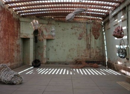 Cherie Johnson, Within, Recycled electrical materials, sound, 15:26mins. Courtesy the artist and The Lock-Up, 2014, Photo: Harry Sideris