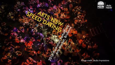 Arts NSW Speed Dating. Image: Studio Impressions