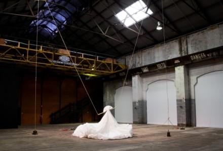 Lauren Brincat Salt Lines: Play It As It Sounds, 2015–16, Biennale of Sydney. Photography: Ben Symons.