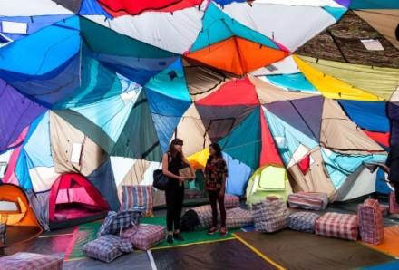 Keg de Souza, We Built This City, 2016, Biennale of Sydney. Photography: Leila Joy.