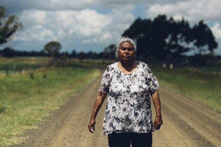 Aunty Gwen Williams by Kate Holmes for Our Way Stories. Image courtesy Arts Northern Rivers.