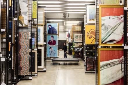 Artbank Sydney collection store. Photo: Tom Ferguson.