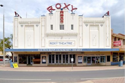 Photo of Roxy Theatre in Leeton. Image courtesy of West Riverina Arts and Arts on Tour.