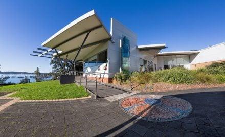 Lake Macquarie City Art Gallery. Image courtesy of Lake Macquarie City Art Council