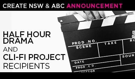Half hour drama and cli-fi project recipients image