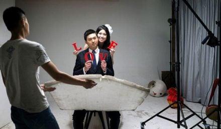 China Love behind the scenes