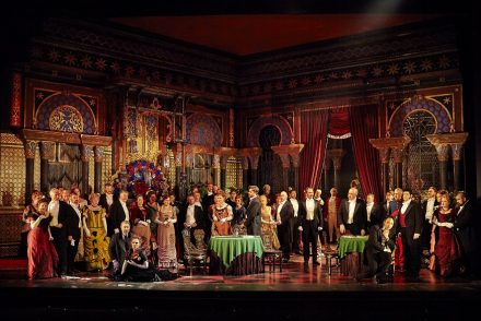 Opera Australia's production of La Traviata 2017. Image: Keith Saunders