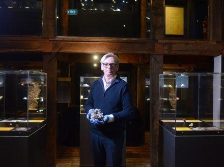 John Fadden, the Albert Kersten Mining and Minerals Museum, photo supplied Broken Hill City Council
