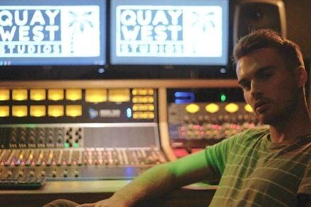 Nicholas Cummins at Quay West Studios