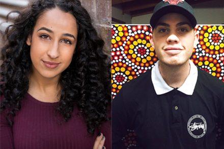 Young Creative Leaders Fellowships recipients - Bernadette Fam, photo by Robert Miniter, and Joshua McCormick