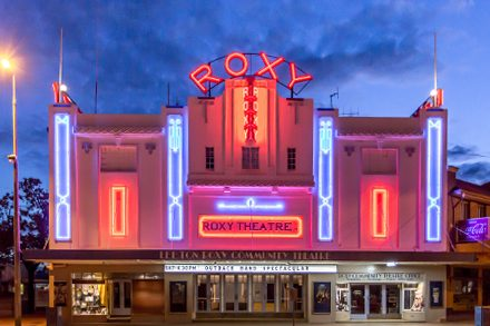 Leeton Roxy Community Theatre. Photo courtesy of Leeton Shire Council.