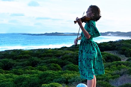 Simone Slattery, King Island Festival of Arts, Culture and Environment, 2019. Photo by: Anthony Albrecht and courtesy of the artist.