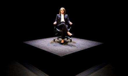 Prima Facie, Griffin Theatre Company. Image: Brett Boardman.