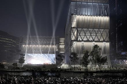 Powerhouse Parramatta. Design by Moreau Kusunoki and Genton.