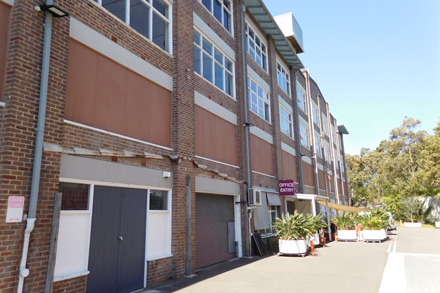 Building 19, 91 Canal Road, Lilyfield NSW 2040 – view of southern end.