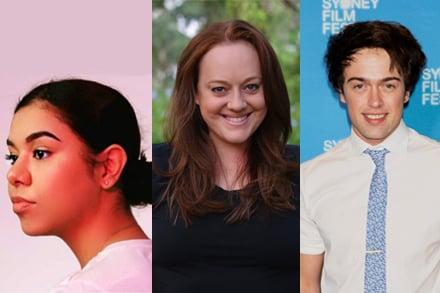 Emerging Producer Placements 2020. L-R Aaliyah-Jade Bradbury, Joanna Beveridge, Joshua Longhurst.