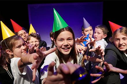 Shopfront Junior Ensemble The Pecking Order. Photo by Tim da Rin.