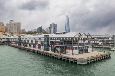 Wharf 4-5 side on looking towards Barangaroo. Credit: Arthur Vay.