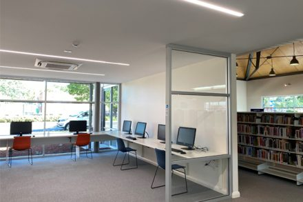 Image: Some of the library's new facilities – Image: Parkes Shire Council