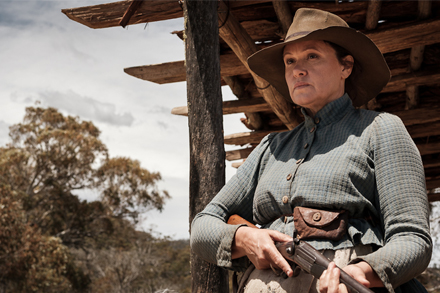 Image: Still from The Drover's Wife The Legend of Molly Johnson.