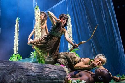 Midsummer Night's Dream, Sport for Jove Theatre Company. Image: Seiya Taguchi